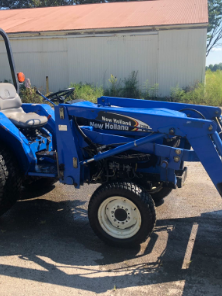 New Holland TC30 Diesel 4x4 Tractor w/Front Loader