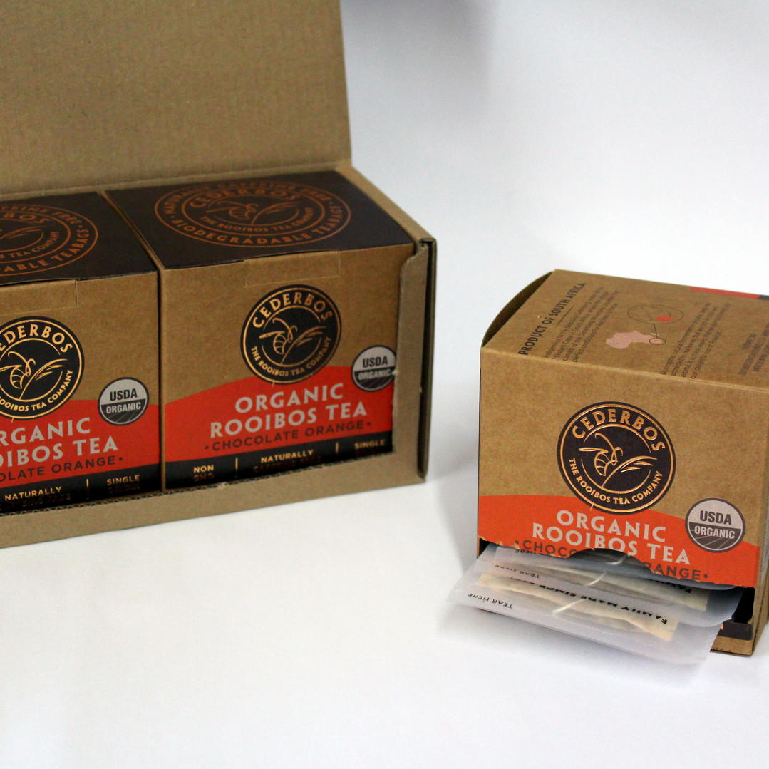 Cederbos Organic Rooibos Chocolate Orang