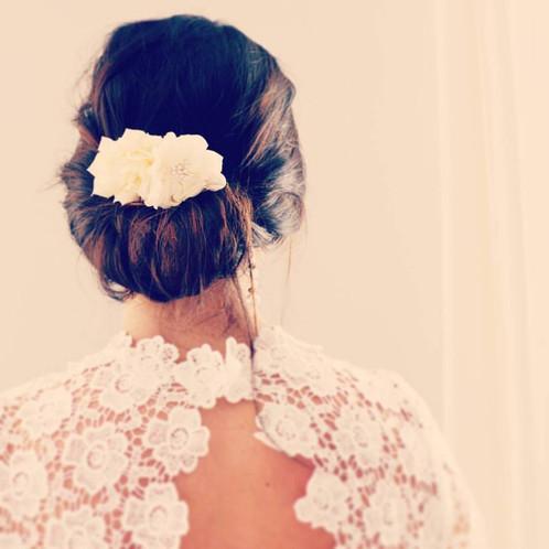 peigne cheveux mariage ivoire fleurs accessoires mariage boh me mes tites lilis. Black Bedroom Furniture Sets. Home Design Ideas