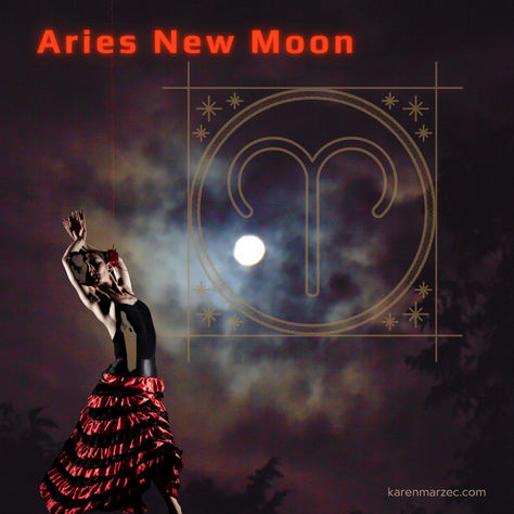 New Moon in Aries 2021