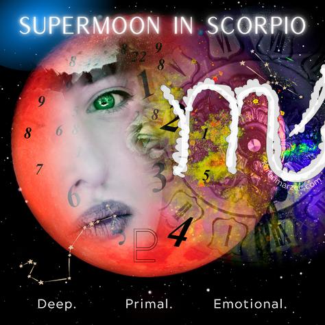 Scorpio Supermoon