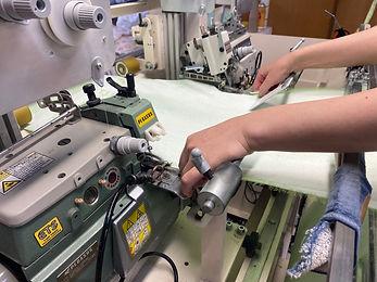 ミミ・ヘム縫製画像