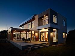 Terrace-Evening-Lighting-Contemporary-Home-in-Edmonton-Canada