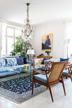 Matti's and Ari's home in Helsinki