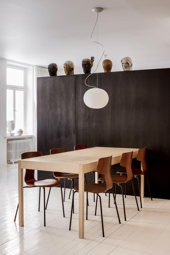 Scandinavian style home in Helsinki