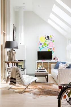 Decorator's home in Helsinki