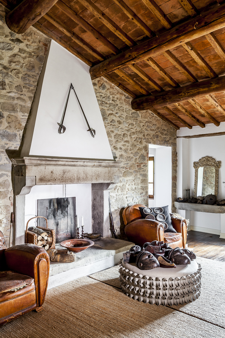 Anne's and Gavin's home in Tuscany