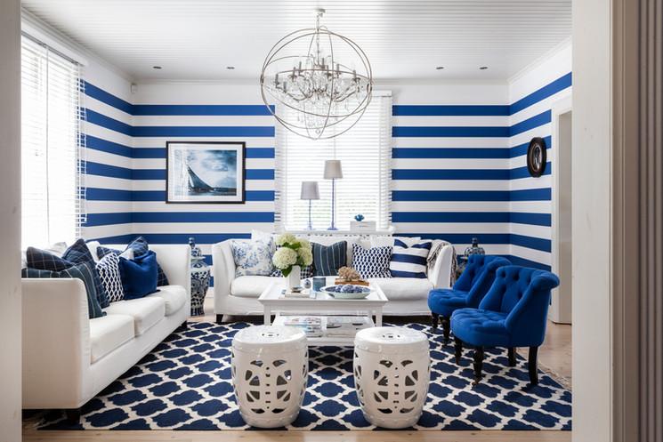 living room in Hanko by Hanna Karonen