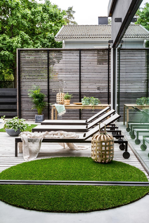Annukka's garden in Glorian Koti