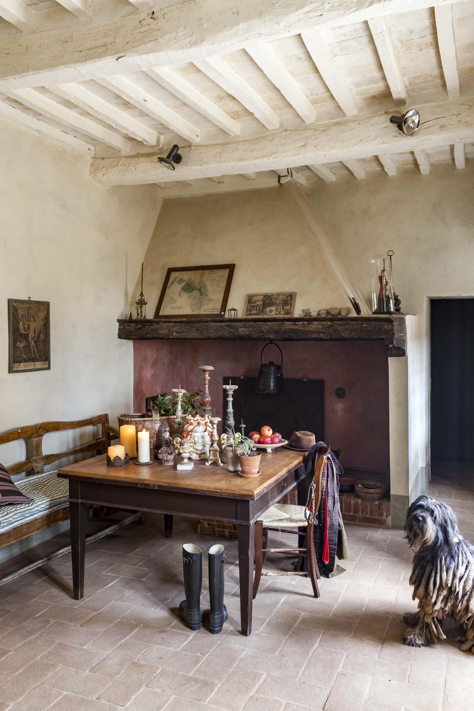 Katarina's home in Tuscany