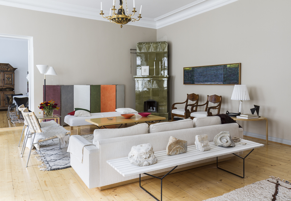 home filled with art and design