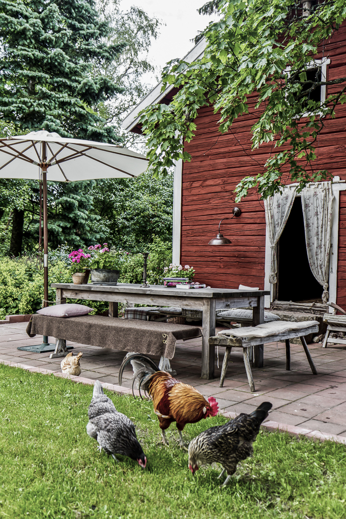 Annarina's  countryside home