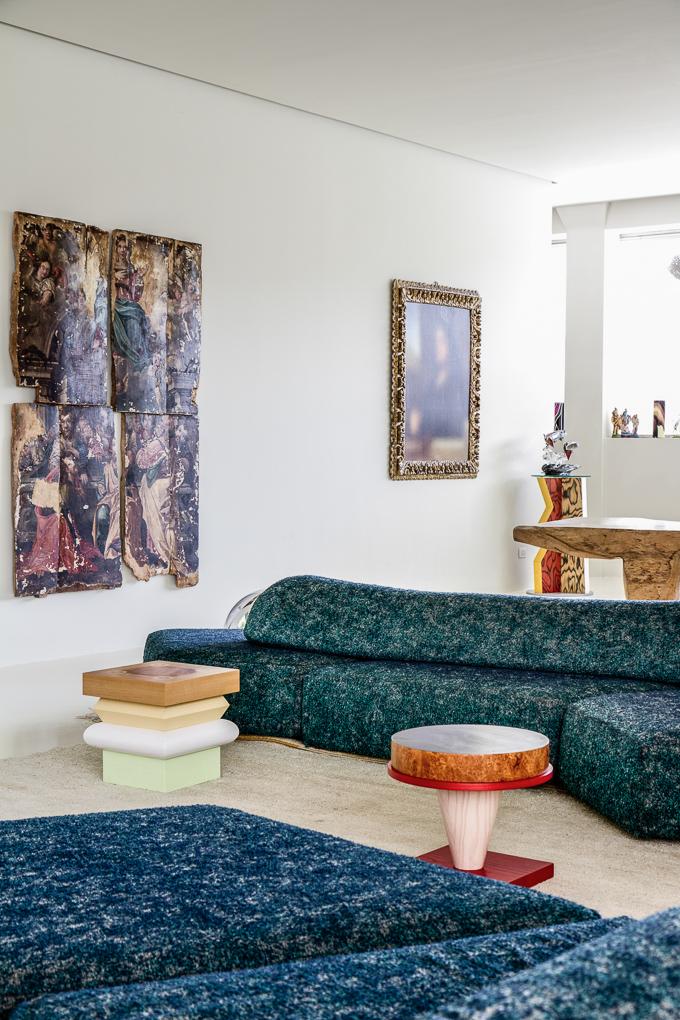 Designer's home in Milan
