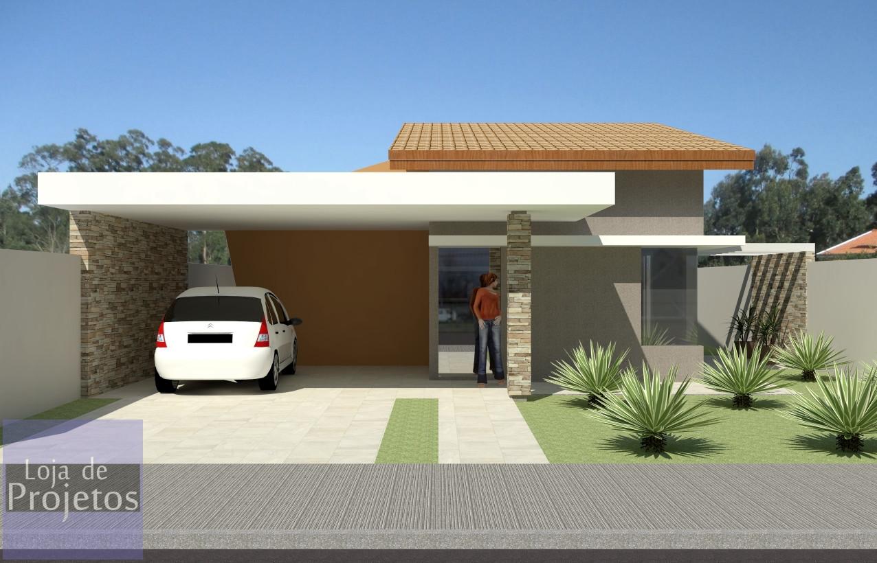Casa DF3 - 3 Quartos - 1