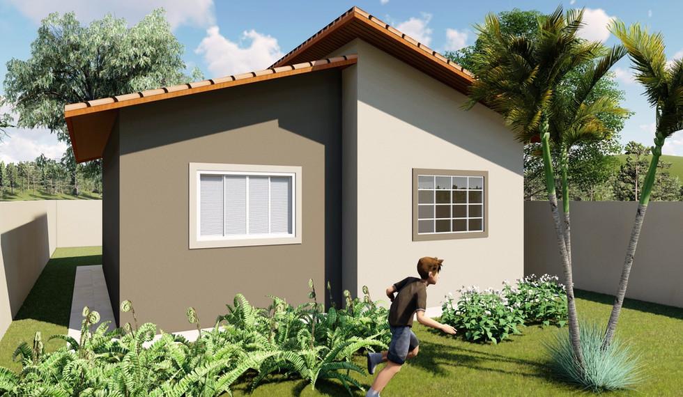MC2 - Casa com 2 Quartos