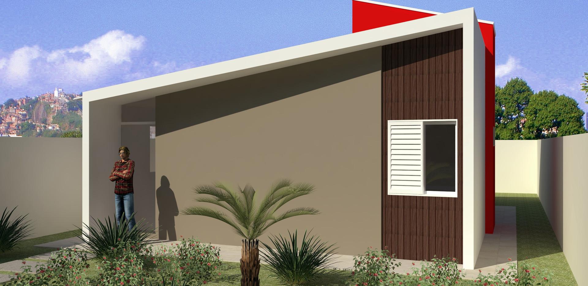 Casa WR2 - Casa com 2 Quartos