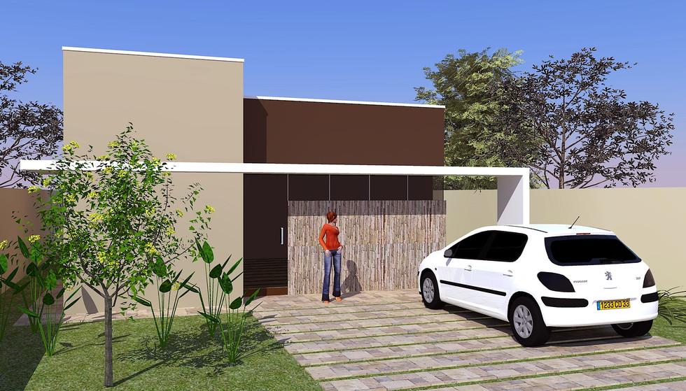 Casa AC2 - Casa com 2 Quartos