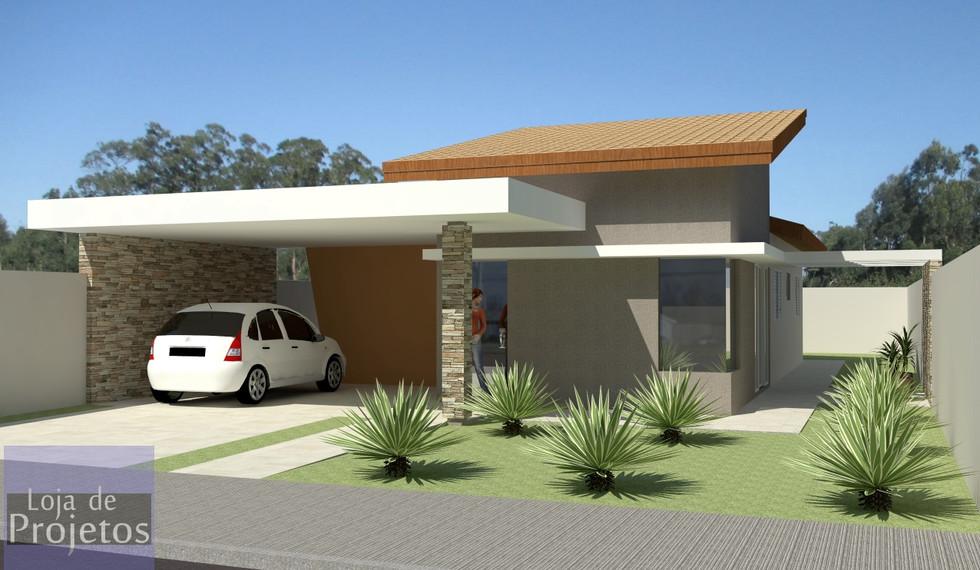 Casa DF3 - 3 Quartos - 3
