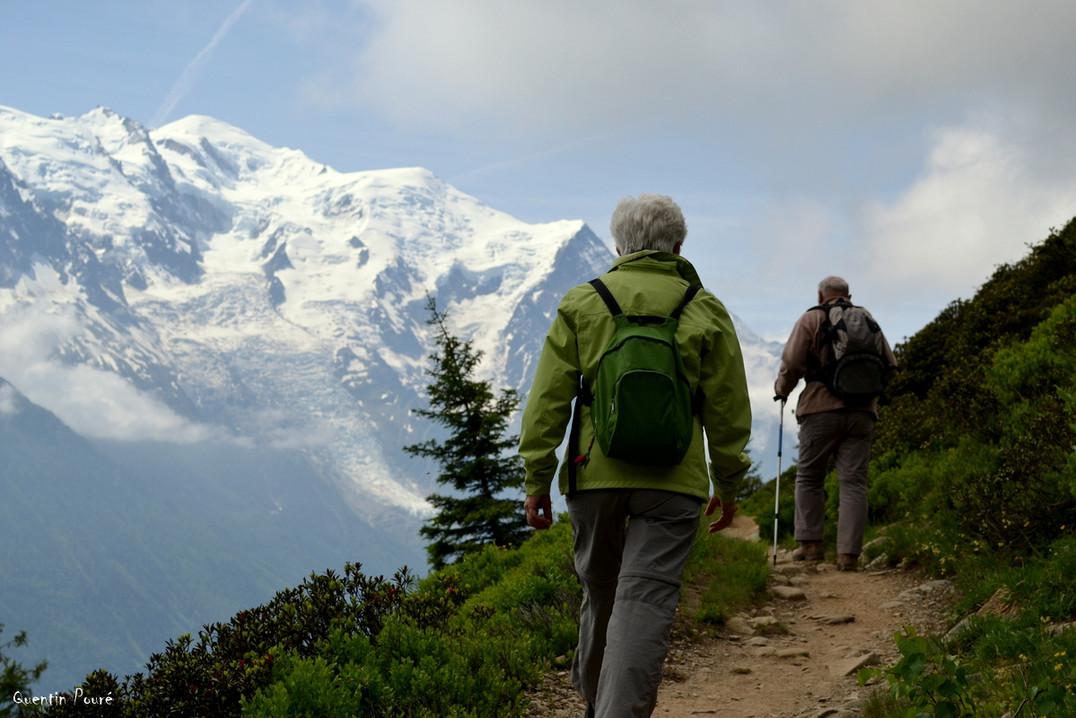 Balcon face au Mont Blanc