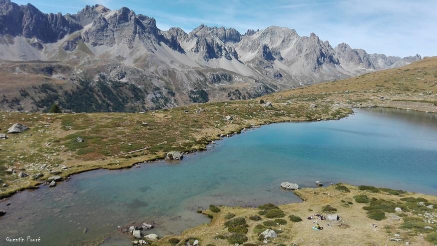 Les lacs de la Vallée de la Clarée