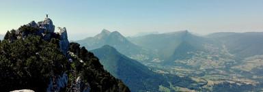 Roc de Boeufs, Massif des Bauges