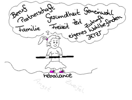 Frau_Rebalance_Seil_Gerade_Partnerschaft