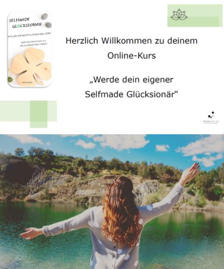 Werde dein eigener Selfmade Glücksionär Worshop der Kurs zum Buch