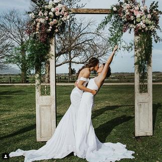 Georgia & Kate's wedding
