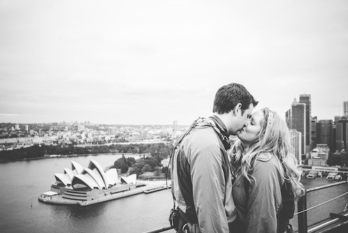 Sydney Habour Bridge wedding