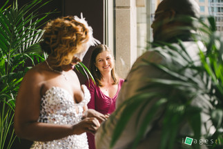 Akina and Lee's vow renewal
