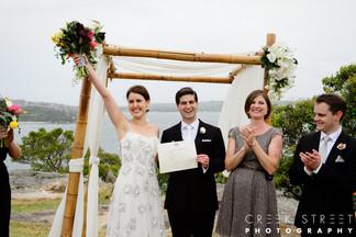 Woo hoo! Finally married!
