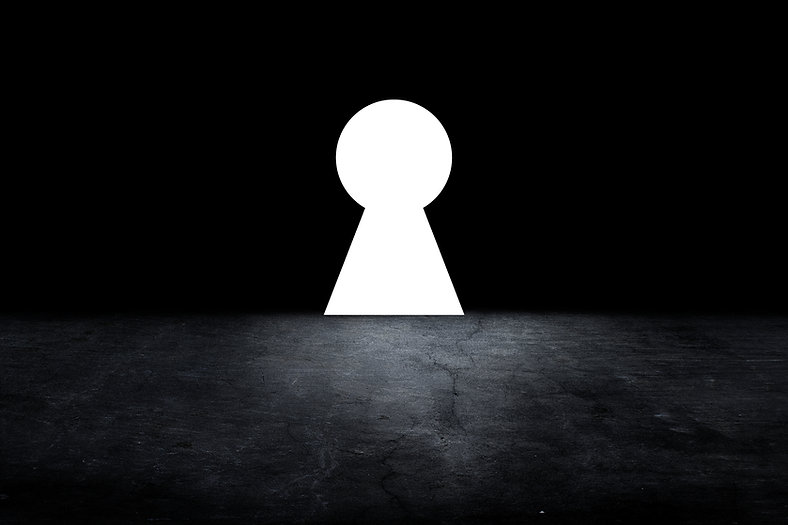 keyhole on the dark interior room, .jpg