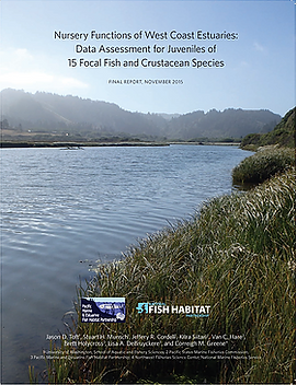 Nursery Functins of West Coast Estuaries