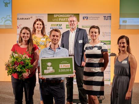 3. Platz im PlanB Start-Up Wettbewerb