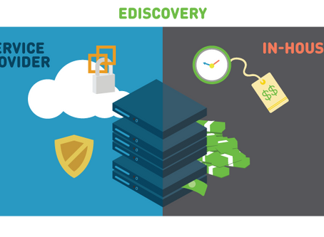 The Real Cost of Bringing Ediscovery In-House: Service Providers