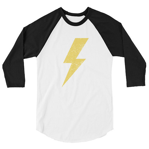 The Gospel is the Power 3/4 sleeve raglan shirt
