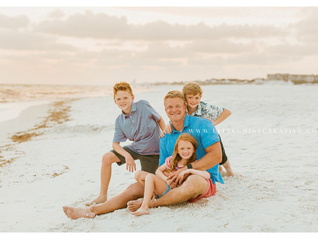 Watersound Family Beach Portraits - Goin Family!