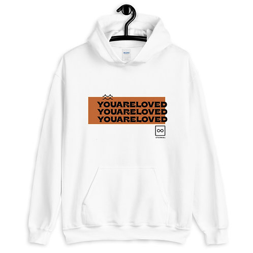 You are Loved - White Hoodie