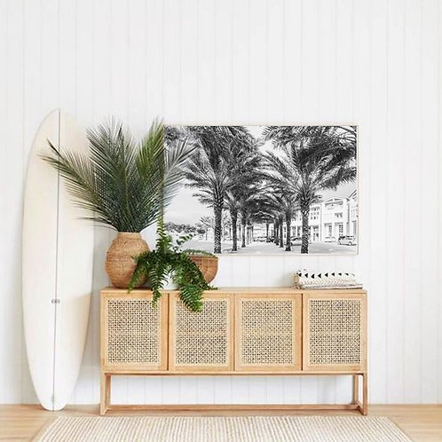 Seaside Amphitheater Palms Canvas