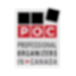 Professional Organizers of Canada logo.