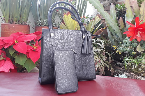 SET CARTERA NEGRA Y BILLETERA