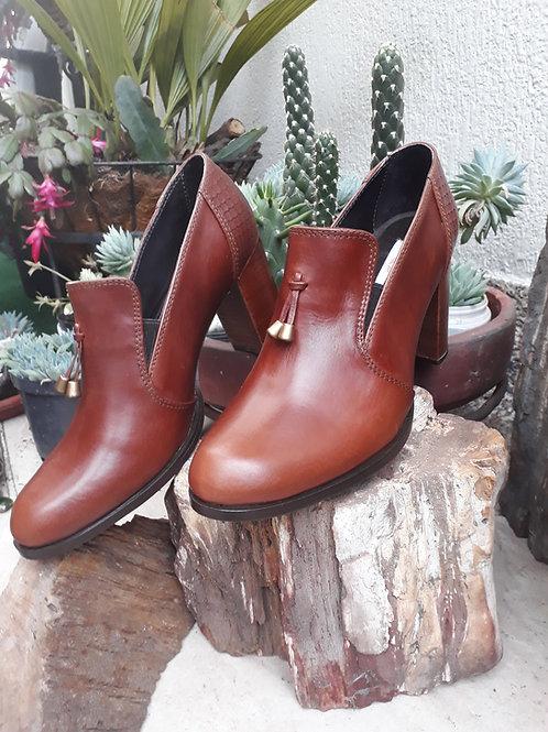 Zapatos cognac