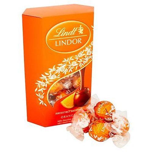 Lindt Lindor Orange Truffles 200g