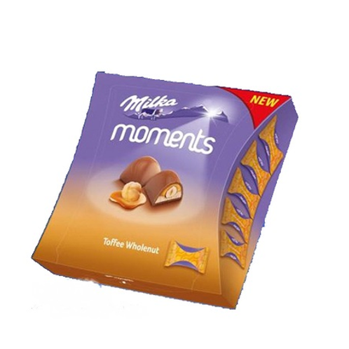 MILKA MOMENTS TOFFEE WHOLE NUT