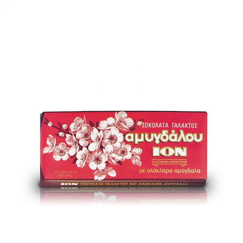 Ion Milk Chocolate with Almonds 200g