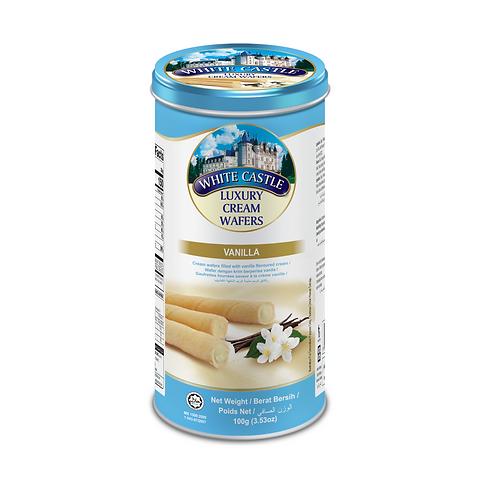 White Castle Wafers Vanilla