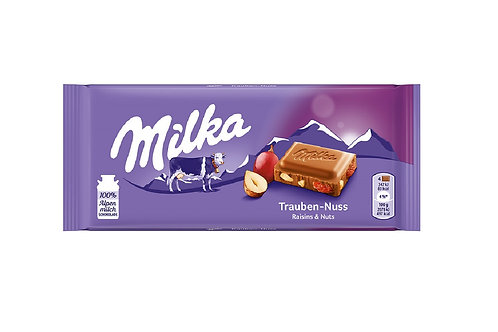 Milka Raisins & Nuts