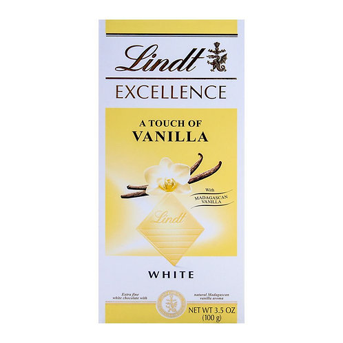 Lindt Excellence White With Vanilla