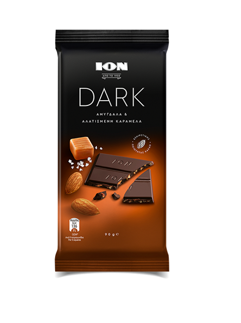 Ion Dark With Almond & Salted Caramel