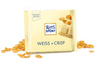 Ritter SPORT Weiss Crisp